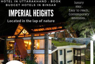 Resort in Binsar, top Hotel Binsar, Uttarakhand India