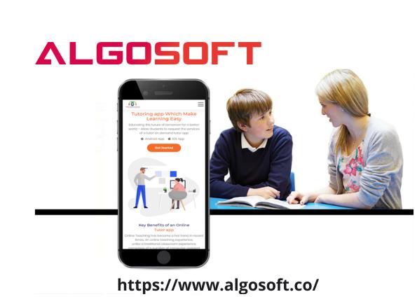 Online Teaching App Development noida
